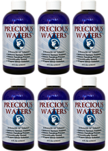 Six Pack of Precious Waters Nano Silver, a good size order to keep daily intake going. As well as enough to start treatment on major illness